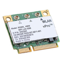 Original New Intel WiFi Link 5300 533AN_HMW 533ANHMW 450Mbps Dual band Wireless Wlan Half Size Mini PCI-e Network card(China)