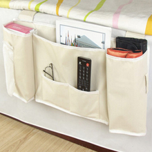 Free shipping Sofa Bedside Bed Pocket Bed Organizer Hanging Bag Phone Holder Storage Bag Deskside Hanging bag Useful
