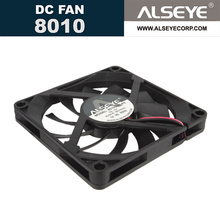 ALSEYE 5v 80mm fan 3000RPM 2pin PH2.0 connector DC cooling fan radiator high quality exhaust fan 8010