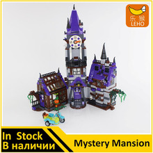 BELA 10432 Compatible Scooby Doo Figures Mystery Mansion 75904 Building Bricks Educational Toys For Children(China)