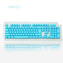 Cool Brand New 104 Piece PBT Keycaps For Mechanical Gaming Keyboards Cherry,Noppoo,IKBC,Ajazz,RK,GANSS,Filco,Poker