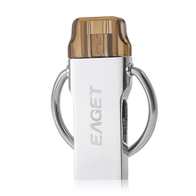 EAGET V86 USB 3.0 OTG Android PC Tablet Flash Drive 64GB Keychain(China)
