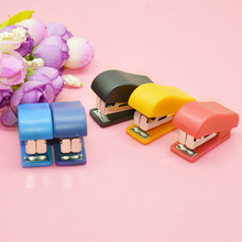 Mini Small Portable Stapler Office Staple Student Gift Stapling Machine Grampeador Stationery Office Accessories School Supplies
