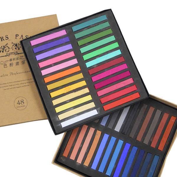 48 Color Soft Chalk Pastel For BJD SD DOD Dollfie Make Up Face Up Tool Accessory<br>