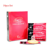 Buy 10pcs/lot Adult Sex Toys Man,Condoms Men Large Contex Sex Products Condones Ultra Thin Condom Penis Sleeve