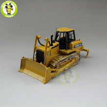 1/35 Cat China SEM822 Bulldozer Construction Machinery Diecast Model Car