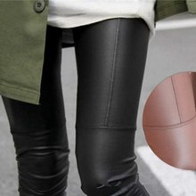 New Style Hot Sale Autumn Winter Korean Fashion Faux Leather Trousers Women New Sexy Skinny PU Leggings Pants Pantalon Femme