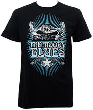Gildan Authentic MOODY BLUES Band Classic Rays Slim Fit T-Shirt S M L XL 2XL NEW men's t-shirt