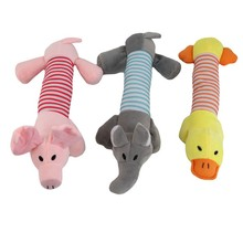 Plush Toys Sound Animal Model Soft Cartoon Handbells Children Mobiles Stuffed Baby Rattles Toy Hand Puppet
