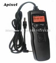 Time lapse intervalometer Timer Remote Shutter Release Cord as RS-60E3 for Canon 700D 650D 600D 550D 500D 60D 70D 1100D 1000D(China)