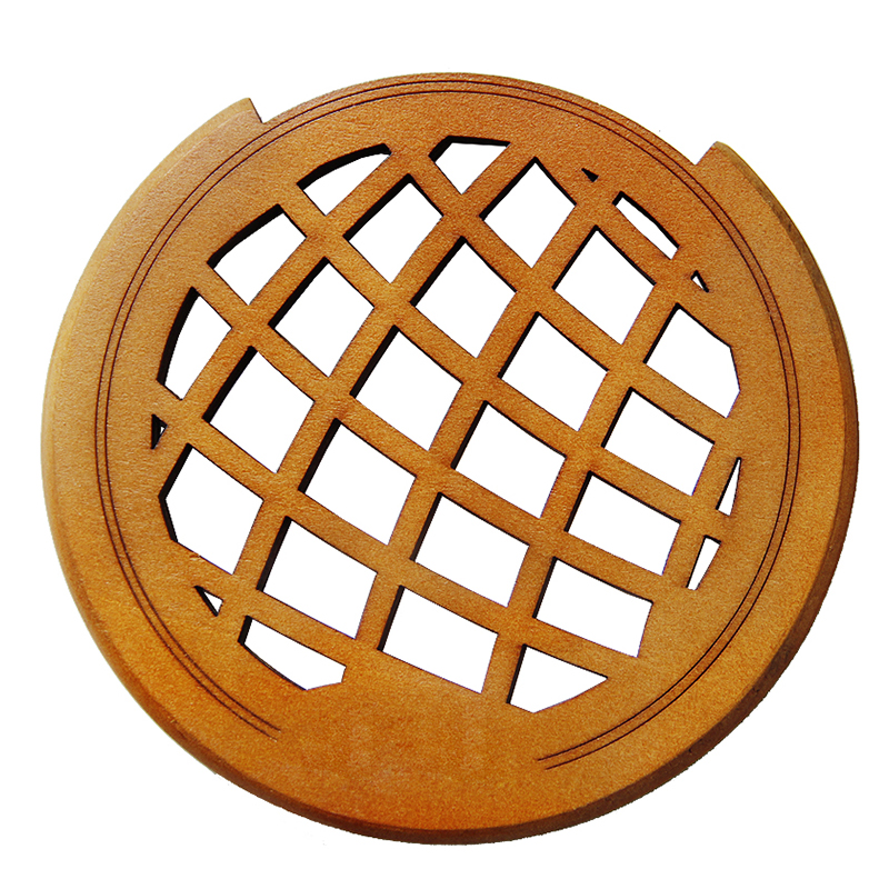 8X Hollowed-out Mahogany Acoustic Classical and Folk Guitar Sound Hole Cover for 40 41  Guitar<br>