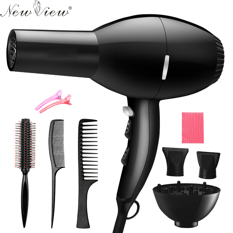 NewView Professional Hair Dryer Blow Hairdryer Hot And Cold Wind 2000W Styling Tools Sets For Salons<br>