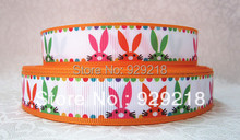 wm 10 yards lot 7/8inch 22mm 1125021 Easter Day printed grosgrain ribbon free shipping()