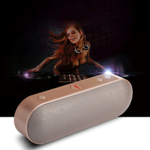Portable Bluetooth Speaker Hands free Wireless Speaker For Phone Xiomi iPhone Sumsung Computer Soundbar FM Radio AUX Subwoofer(China)