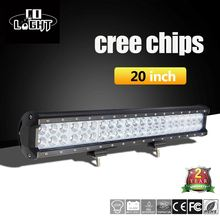 CO LIGHT 20INCH 126W Cree Chips Work Light Bar Combo Beam 12V For Truck Tractor Trailer for Jeep Ford Nissan Chevy Off-road 4x4