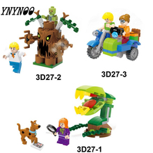 YNYNOO Scooby-Doo Mummy Museum Mystery Building Block Model Kits Scooby Doo Marvel compatible lepin Toys for children