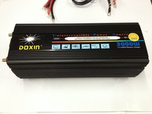3000W 6000W(peak) DC12V to AC220V and DC24V to AC220V 50HZ power Inverter + battery charger