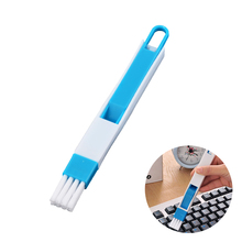 1 Set Multifunctional Dust Cleaning Brushes Computer Brush Window Cleaning Groove Keyboard Nook Ash Cleaner Dirt Remover Dustpan(China)