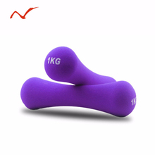 Dumbbell Women 1kg Fitness Equipment Weights Handweights Slimming Body Building Dumb Bell Exercise Dumbell 1Pc(China)