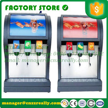 CFR shipping by sea 3 pump coke post mix soda fountain dispenser soda drinks dispensing machine with 3 valves(China)