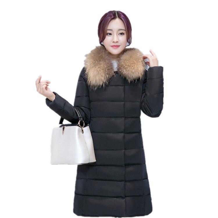 2016 special limited edition new jacket women in the long section of large wool collar Slim was thin warm jacket LL002Îäåæäà è àêñåññóàðû<br><br>