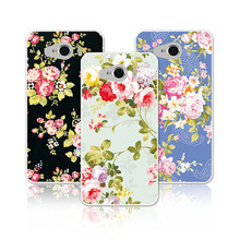 "Luxury Floral Painted Phone Cases ZTE Blade L370 L3 Apex (not ZTE L3)Cover Art printed Flower Case ZTE L370 L 370 5""+Free Gift"