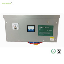 SANYI AMANDLA 450KW Power Saver Electricity 3 Phase Energy Saving Devices Voltage Stabilizer for Industrial with Voltage Display