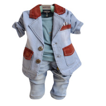 Anlencool 2017 Special Offer Rushed Free Shippingmen's Suits High Quality Infant Valley Three-piece Suit Baby Clothing Boy's Set