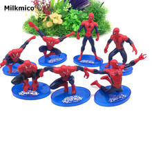 Milkmico Fashion Action Figure Cake Furnishing Articles Party Cake Decoration Gift Toys For Kids Baby Shower Suppliers(China)