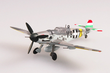 EASY MODEL scale airplane 37257 1/72 scale aircraft  BF-109G assembled model finished model do not need to assemble model gift