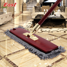 East Luxurious Mop Gift Set High Class Mahogany Flat Mop Multi-functional Floor Cleaning Mop with Different Kinds of Mop Refill