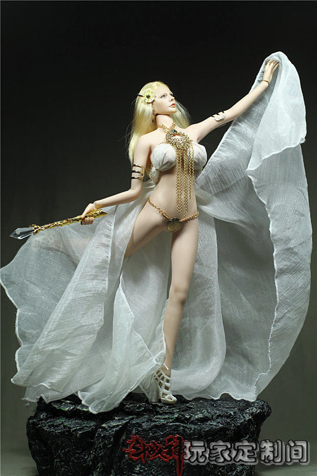 1/6 Scale Customize God of Flower Clothing Set For 12 PH Jiaodol Large Bust Figure Doll Accessories<br>