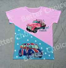 Track Ship+Printed Vintage Retro Cool Rock&Roll Punk T-shirt Top Tee Graffiti Truck Bubble Car Travelling Dog 0137