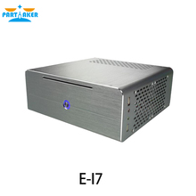 All aluminum gaming pc case for industrial pc/car pc E-i7