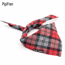 PipiFren Dogs Scarf Grooming Products Collar Bandana Pets Accessories Cats Tie Wedding Shop Yorkshire Chihuahua pettorina cane(China)