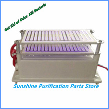 Low Noise 8g /16g  Ozone Generator Ozone Sterilizer with Double Electrode Ceramic Plate Quick Deodorization +Free Shipping