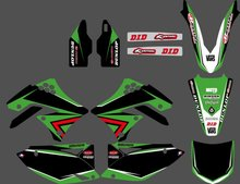Style TEAM GRAPHICS&BACKGROUNDS DECALS STICKERS Kits Kawasaki KX450F KXF450 2009 2010 2011 2012 KX 450F KXF 450 - DIRT BIKE store