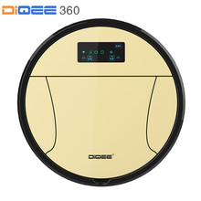 DIQEE 350 Smart Robot Vacuum Cleaner for Home cyclone Sweeping Dust Sterilize Gyro navigation Planned Water Tank mop Filter