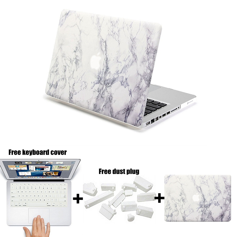 For Funda macbook pro 13 Case Hard Matte Marble Painting PC Sleeve Cover For Mac pro 13.3inch Laptop Computer bag bolso port(China)