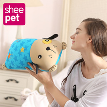 63cm dog plush baby toys kawaii soft sleeping pillow stuffed dolls for kids children gifts Seat Cushion(China)