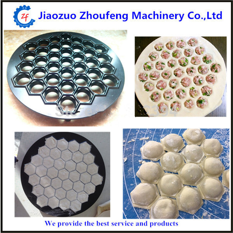 DIY 37 holes dumplings mold maker kitchen dough press ravioli dumpling making machine mould free shipping  ZF<br>
