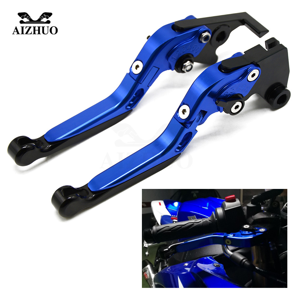 Universal Adjustable Motorcycle Accessories Folding Extendable Brake Clutch Levers For YAMAHA MT-01 2004-2009 V-MAX 2009-2016