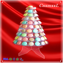 hot sale new design 10 tier macaron tower with acrylic base for best display at wedding ceremony(China)