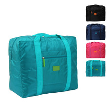 New Waterproof Nylon Folding Foldable Home Travel Package Popular Travel Bag(China)