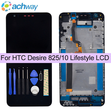 "For HTC Desire 825/ 10 Lifestyle LCD Display Touch Screen Digitizer Assembly With Frame Replacement 5.5"" For HTC 825 LCD"