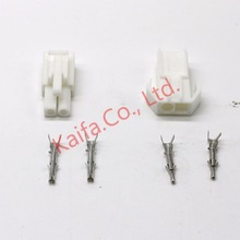 10 sets 2/3/4/6/9/12 pin/way Small Tamiya connector Set Kits mini Tamiya set EL 4.5MM male Female socket plug w