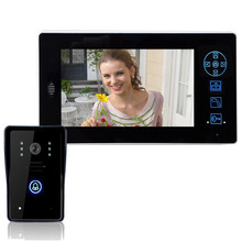 "2.4GHz Digital Wireless Video Door Phone IR Camera + 7 "" TFT LCD Color Display(China)"