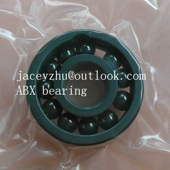 high quality 6004 full SI3N4 ceramic deep groove ball bearing 20x42x12mm ABEC3 NO cage<br>
