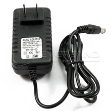US Plug DC 12V 1A AC Adapter Charger Power Supply for LED Strip Light 5050 3528 5630