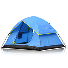 150*210*115CM Camping Hiking Tents Waterproof Climbing Double Layers Outdoor Fishing Professional Outdoor Tents Online Stores(China)